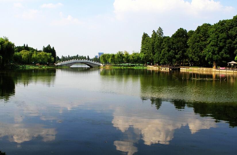 武汉东湖公园风景