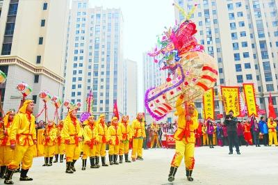 武汉小学生传承接棒小学高龙东西安市沣千年图片