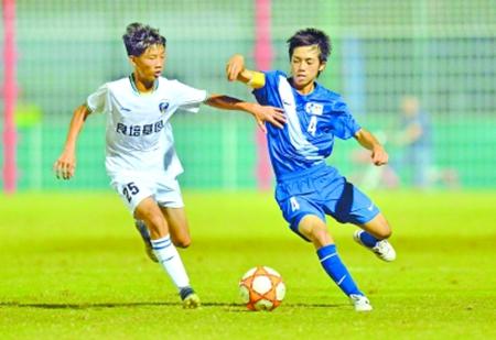 2018武汉国际少年足球赛 八国少年战江城