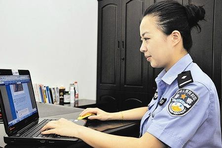 电脑桌面壁纸女警