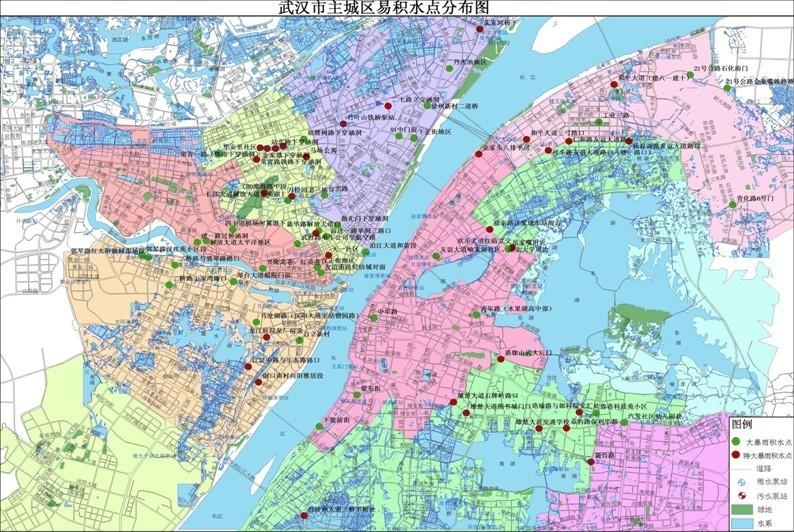 武汉中心城区地图_武汉三镇地图