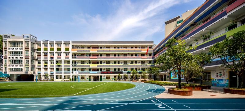 校园全景 图片来源:武汉市洪山区广埠屯小学